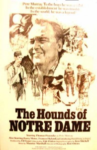 "Poster for the film ""The Hounds of Notre Dame"""